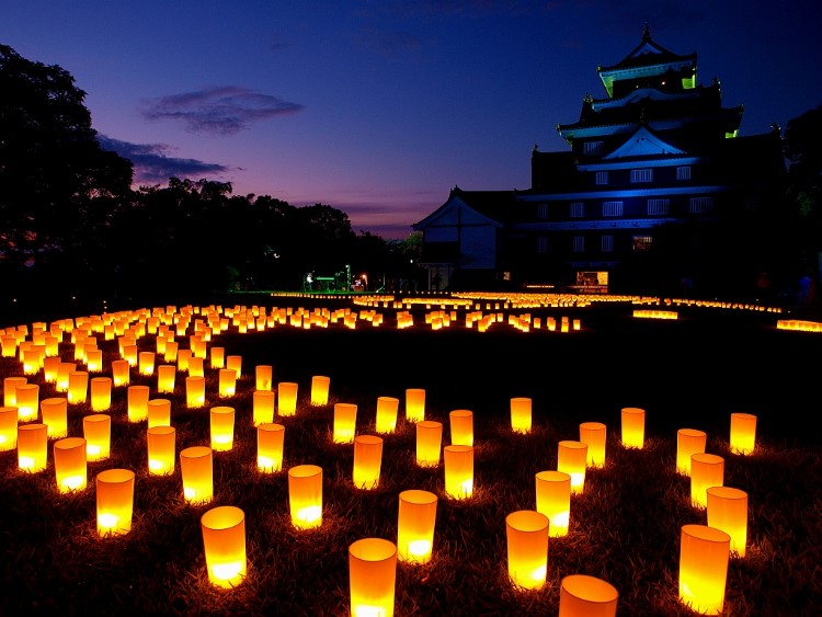 obon candles