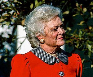 barbara bush obituary photo