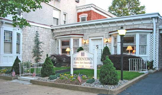 bordentown home for funerals