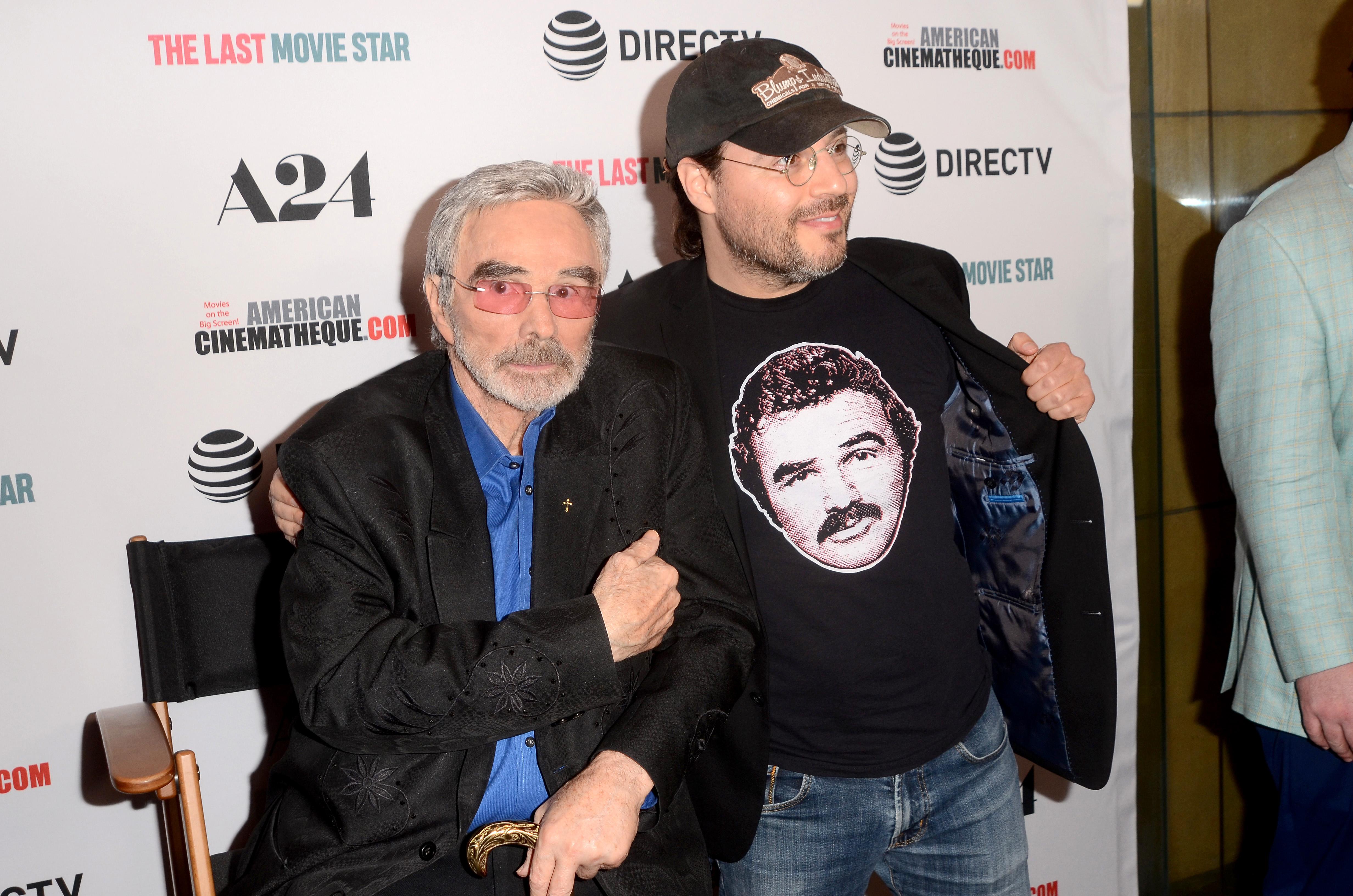 Burt Reynolds at Film Premier