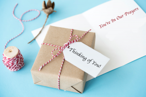 package and card